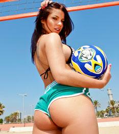 big bottom nude woman