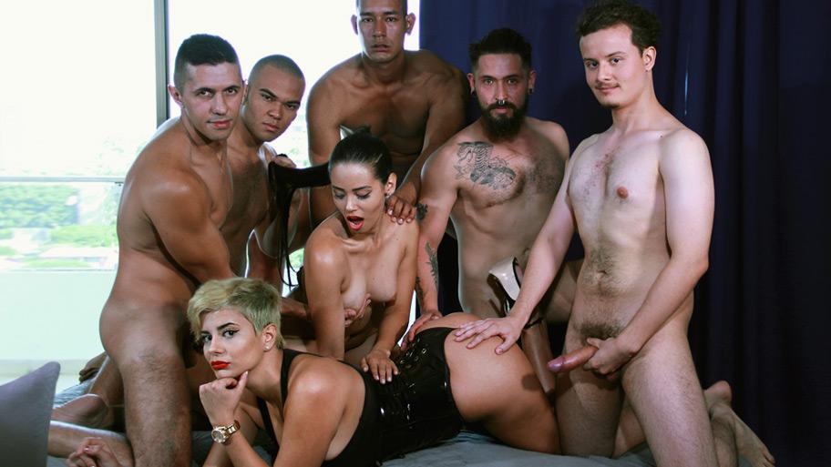 Le casting porno d'Amaranta Hank