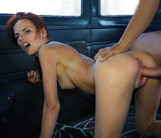 Susana Melo -  Fucking at the vehicle inspection