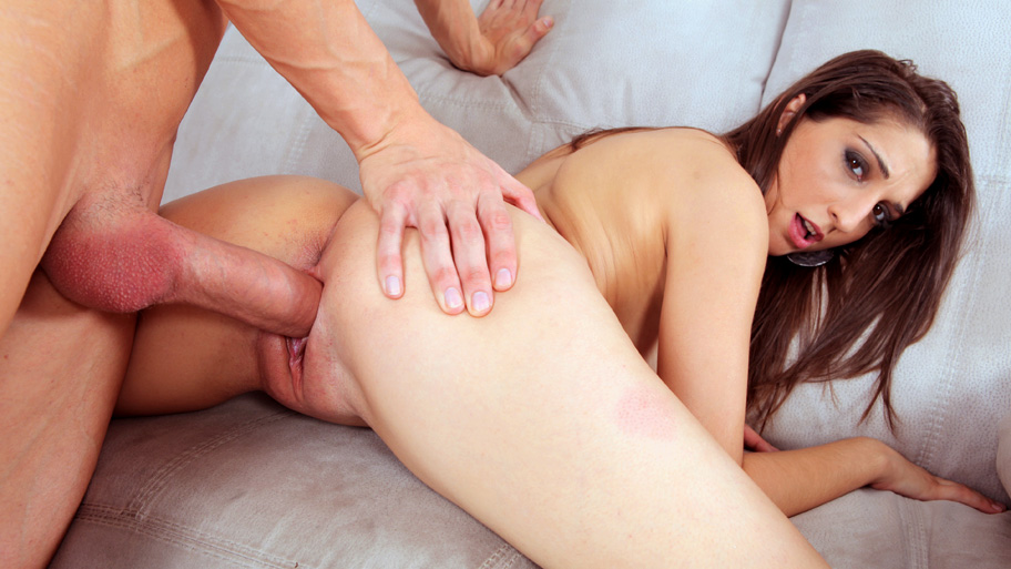 A monster cock for Jimena Lago