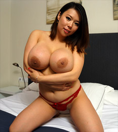 Asian slut has a toy session with the randy fellas 8