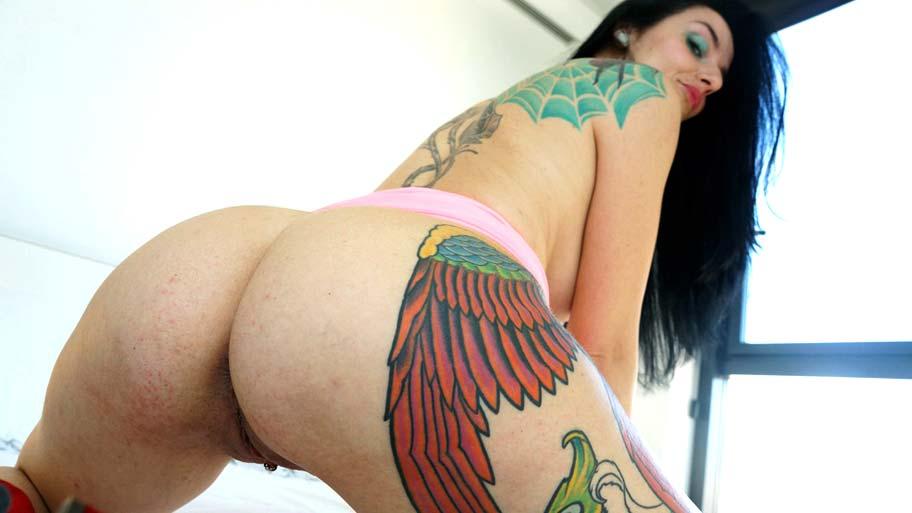 Horny mature grabbing a cock