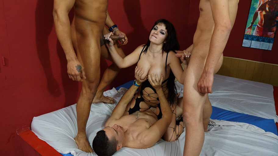 A casting with three cocks