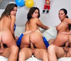 Family party orgy