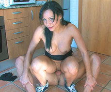 Lara Tinelli -  Dick training