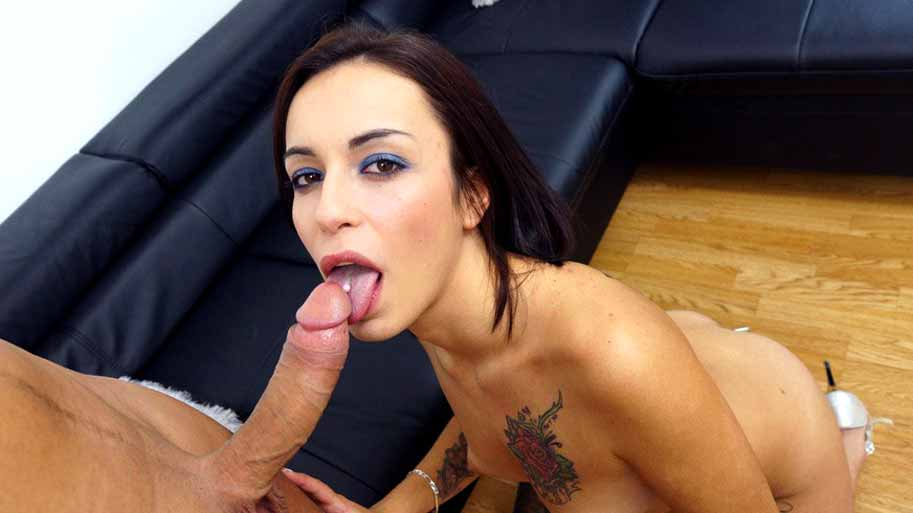 Interview and sex with Silvana