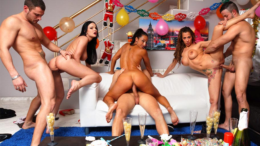 Our orgy party video