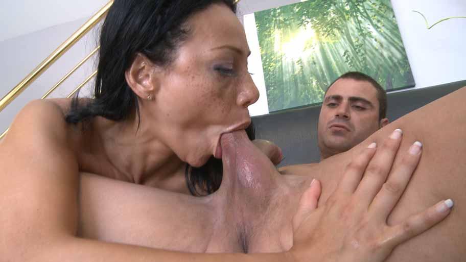 Sexy Latina filled with cum