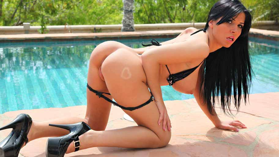 Awesome anal for Rebeca Linares